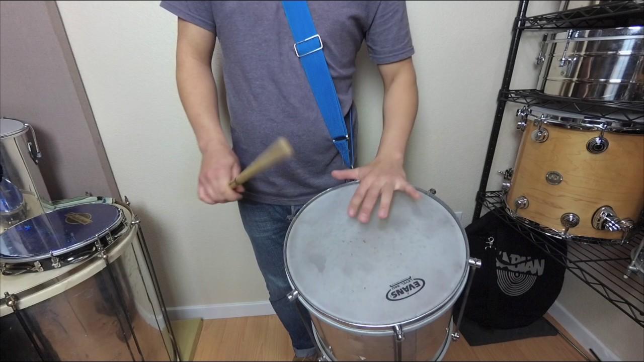 12 Samba Rhythms for Repique