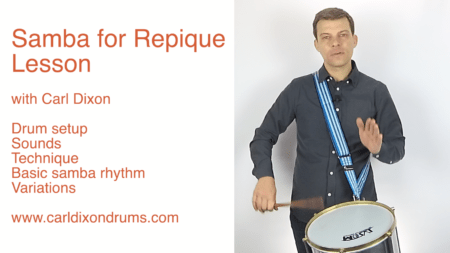 Samba for Repique Lesson